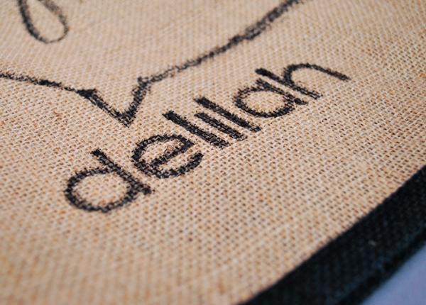 delilah deli delicatessen tea Coffee Chalkboard colour eco