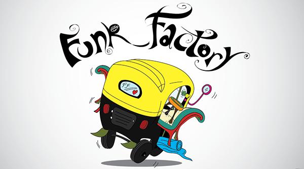 Funk Factory, Logo Design on Behance