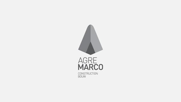 Adobe Portfolio agremarco logo Logotype logos Logotipo construction concrete boutik type marca marcas Logomarca