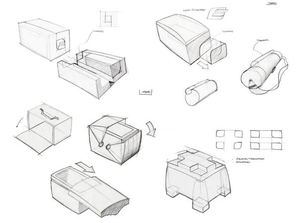 Lunch Box Sketch Design Sketch Coloring Page