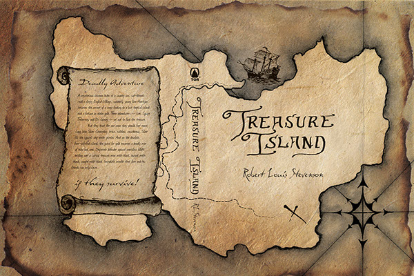 book report on treasure island