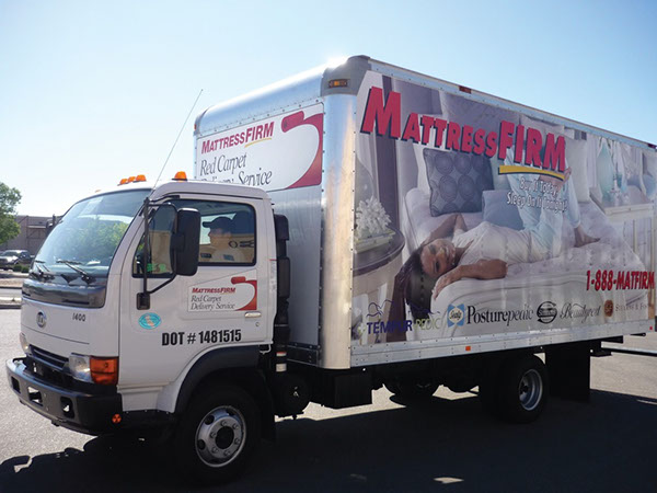 MattressFirm Truck Wrap on Behance