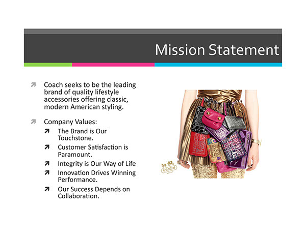 solution to coach inc from staid to stylish Business strategy case study - coach inc: from staid to stylish case study in the late 1990s, coach underwent a major transformation under the management of its ceo lew frankfort and designer reed krakoff.