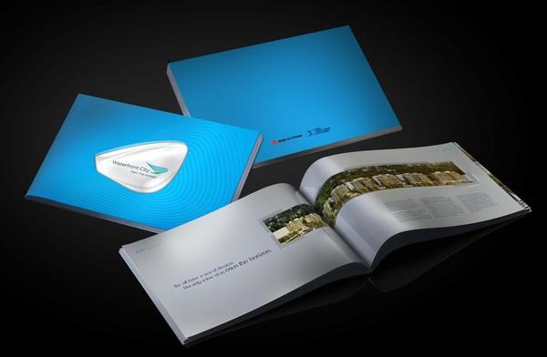 brochure  horizon  horizontal  Real Estate  construction  landscape building  design  colors horizon horizontal real estate construction Landscape colors