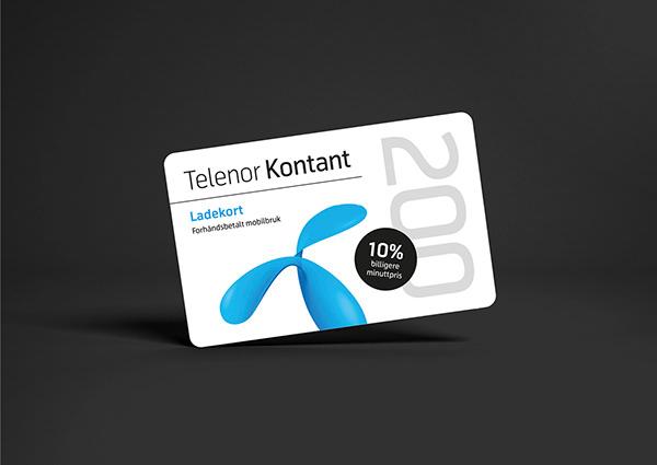 telenor kontantkort internet
