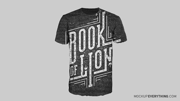 free t shirt mockup template on behance - Free T Shirt Mockup Template