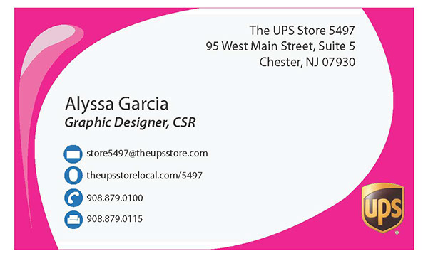 Ups store business cards on behance personalized business cards for employees inlcuding myself at the ups store reheart Gallery
