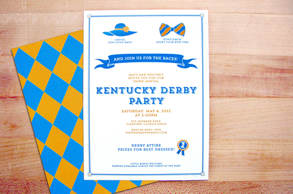 Kentucky Derby Party Invitations on Behance – Derby Party Invitations