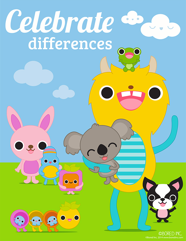 positive mental amp emotional health kids posters on behance