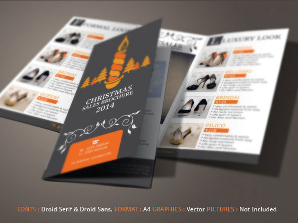 Christmas Sales Brochure Design On Behance - Sales brochure template