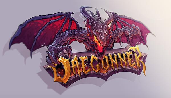 Daegonner Logo - Minecraft Server Logo on Behance