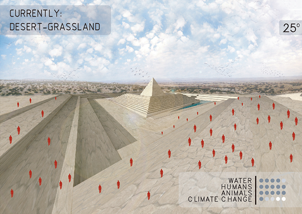 Waste Sight / Arch out loud Nuclear ideas competition on Los Andes