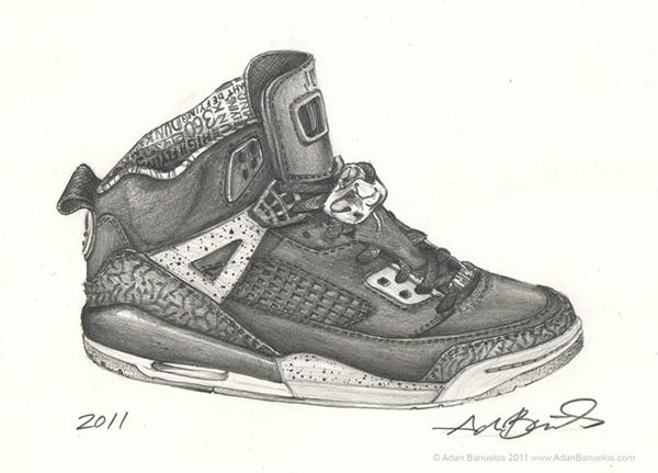 Jordans Drawing i Draw Sneakers