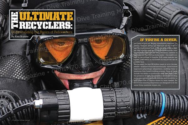 Dive training magazine on behance - Dive training magazine ...