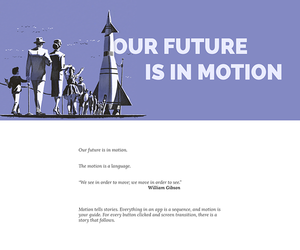 Our future is in motion by Zsolt Pajan