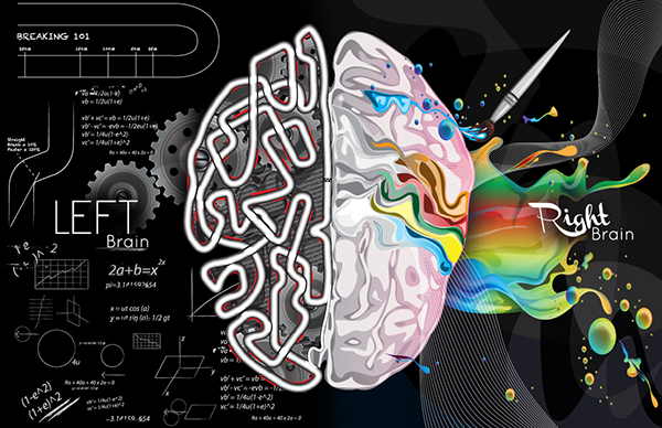 Left right brain on behance for Mercedes benz usa llc brunswick ga