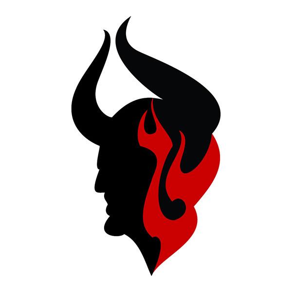devil amp hell logo on behance