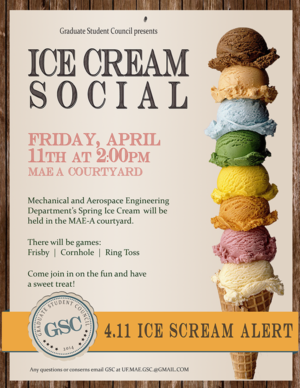 Print - Ice Cream Social Flyer on Behance