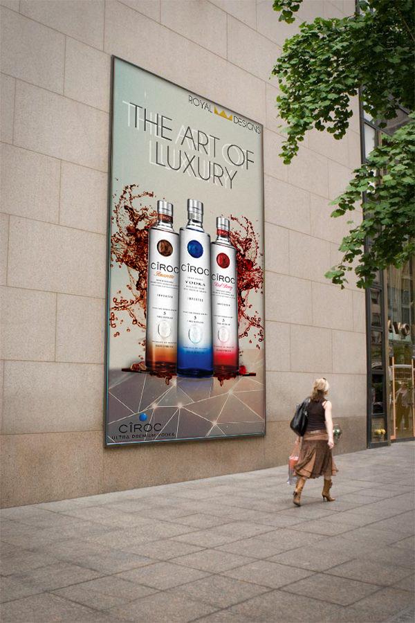 advertisements imagine customs adverts class mockups
