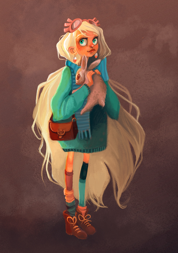 Harry Potter Character Design Challenge Facebook : Harry potter character design challenge luna lovegood on