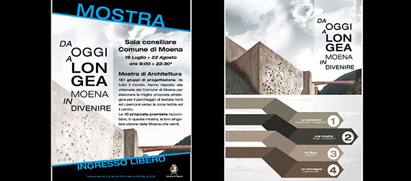 Competition exhibit design graphic wood Forex