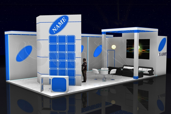 Exhibition Stand 3d Free Download : D exhibition stand designs on behance