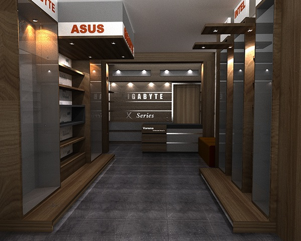 Computer Store on Behance