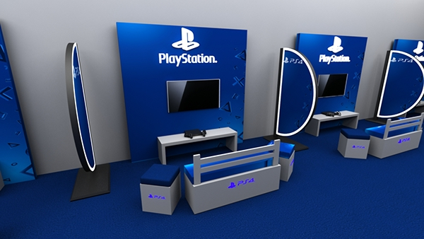 Playstation Cafe On Student Show