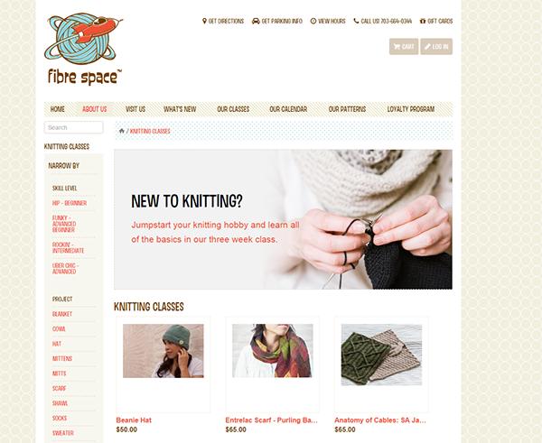 Fibrespace Web Store Detail image
