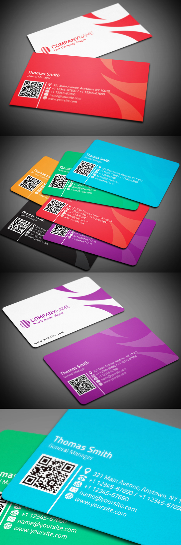 Corporate Business Card on Behance