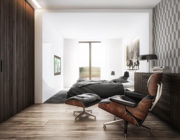 cutout architects interiors contemporary minimalist