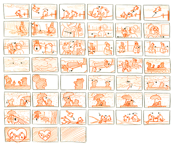 Storyboarding For Film Storyboard For a Short Film