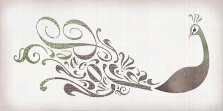 typography   peacock  Jellyfish Ocean reindeer Distressed letterforms boat Tree  swan pattern