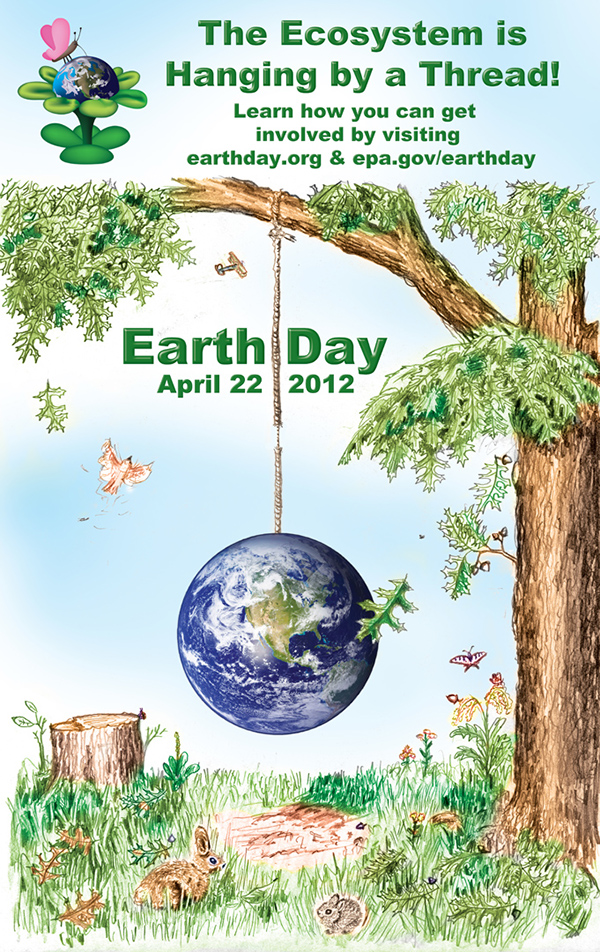 This Was The Winning Design For Thaddeus Stevens College Of Technology 2009 Earth Day Poster Contest I Updated Dates And Website Information To