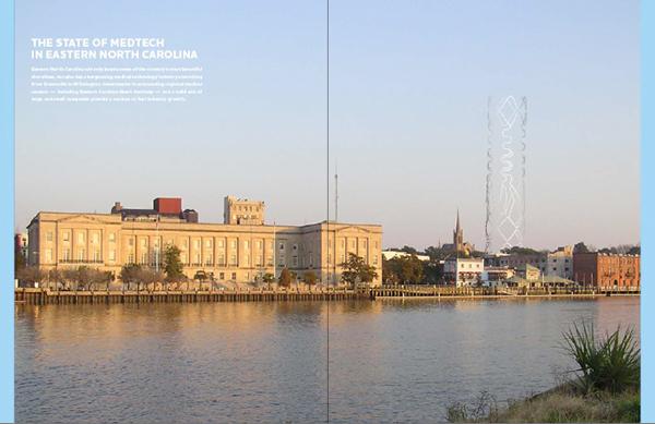 annual report biotech medtech publication design