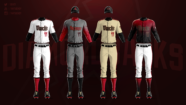 Mlb Jerseys Redesigned On Behance