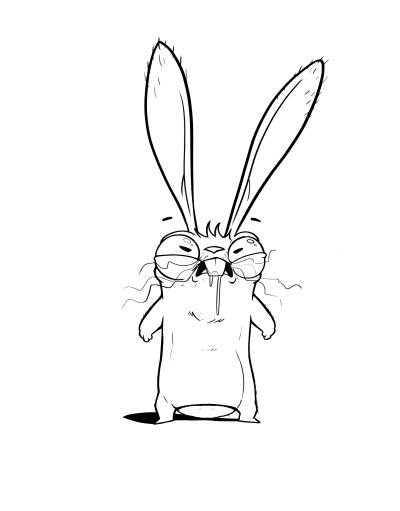 rabbit Mad madrabbit studio Character brandhero design