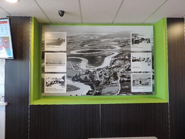Pita Pit History Wall on Behance