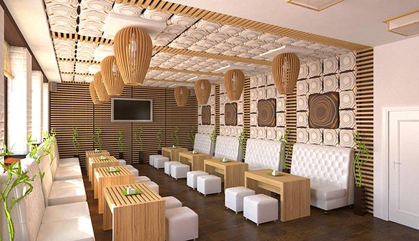 Sushi bar on behance