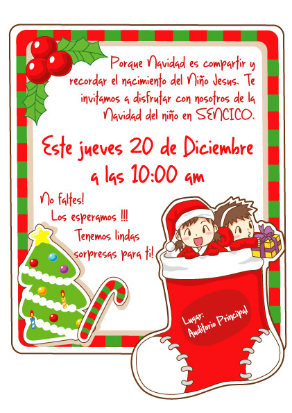 Navidad y a o nuevo on behance - Tarjetas de navidad de ninos ...