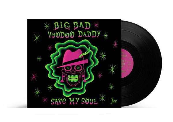 Big Bad Voodoo Daddy Vinyl Cover On Behance