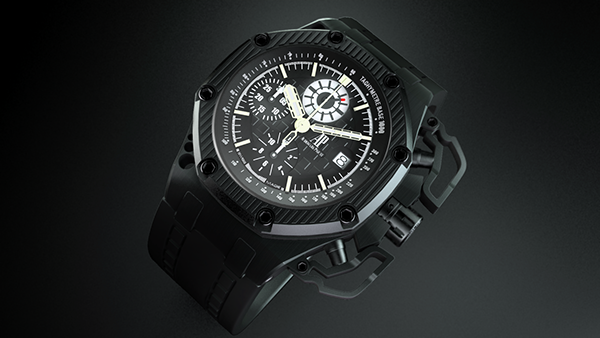 Audemars piguet royal oak offshore survivor on pantone canvas gallery for Royal oak offshore survivor