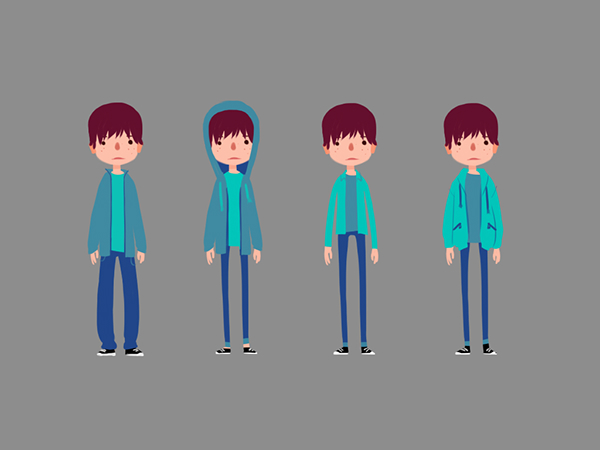 Character Design Project Brief : Character design don t worry be happy project on behance