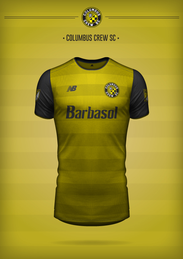 New Balance Columbus Crew SC Concept Kit