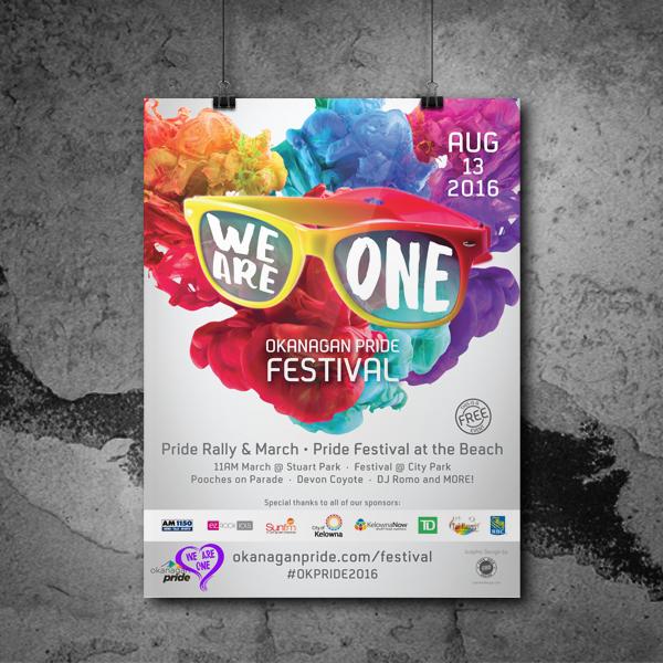 pride festival Poster series poster design Event