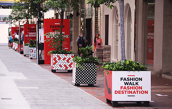Fashion Walk Fashion Destination red stylish Street art pattern