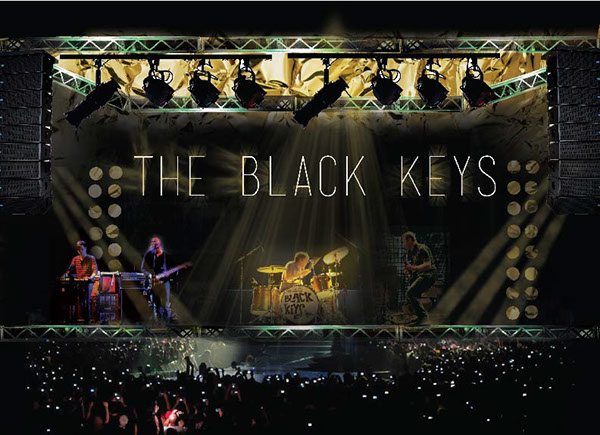 The Black Keys. Gold On The Ceiling World Tour