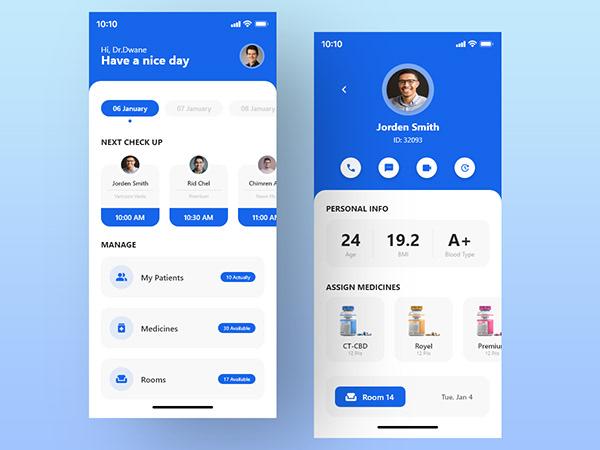 Doctor App UI