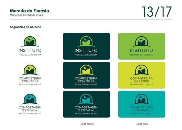 morada da floresta natureza brand forest logo Nature Sustainable sustentabilidade visual identity