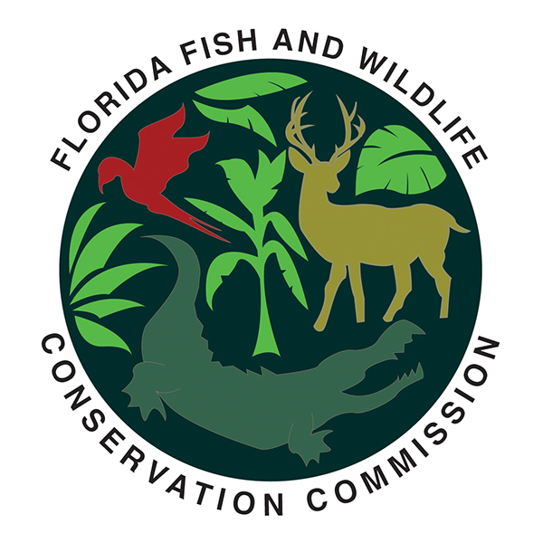 Logo design on student show for Florida fish and wildlife jobs
